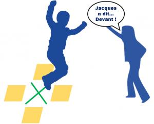 Illustration Jacques a dit... Saute ! - Clique ici pour ouvrir les consignes