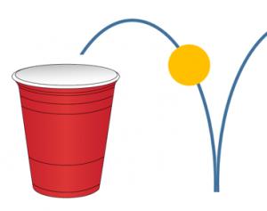 Illustration Gobelet Pong - Clique ici pour ouvrir les consignes