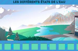 Image du jeu : Les différents états de l'eau - Cliquez pour ouvrir le jeu