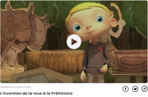 Arrêt sur vidéo : L'invention de la roue à la préhistoire - cliquez ici pour accéder à la vidéo