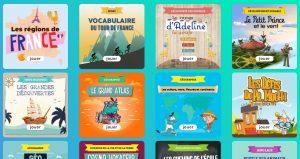 """Extrait de la page d'accueil du dossier """"vacances d'été, le top 20 de nos jeux éducatifs"""" de Lumni"""