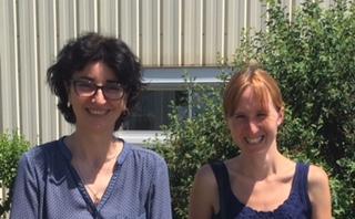 Sandrine Belliere et Melanie Vignol Phalip
